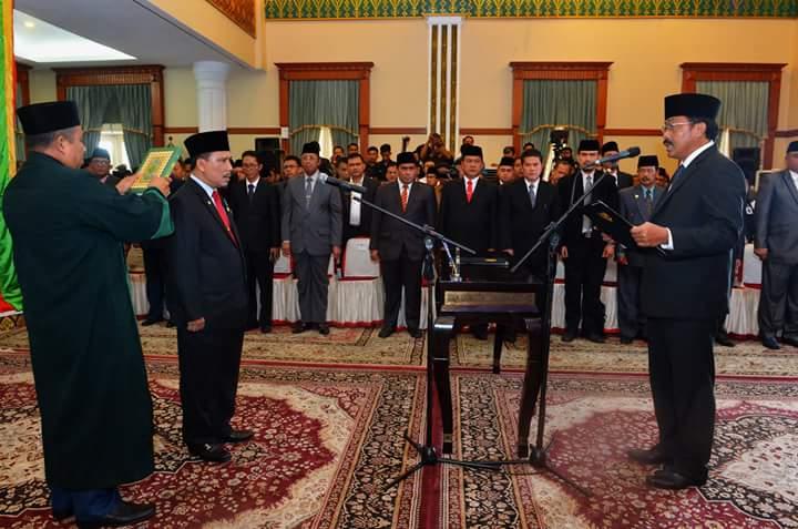TS Arif Fadillah Resmi Sekdaprov Kepri Definitif